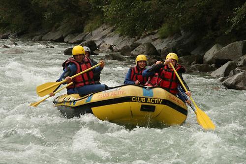 Rafting a Campo Tures Alto Adige Italia
