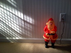 Santa Christmas Light