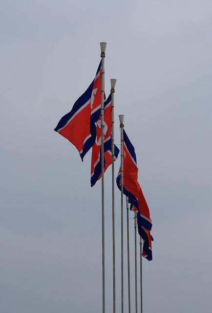star raw flag flags northkorea 2007 pyongyang dprk 朝鲜 nordkorea kimilsungsquare ef24105f4l eos400d 北韩