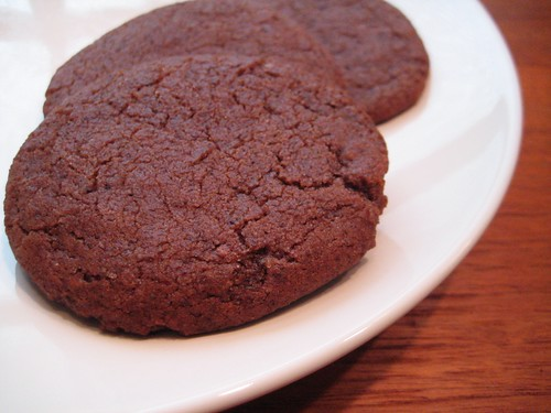 chocolate raspberry cookies