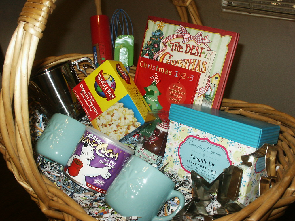 SOLD Night Before Christmas Basket #2  Click description below for prices