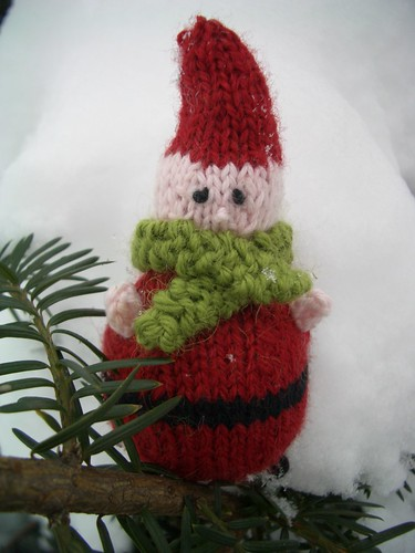 #340 - Tomte in the snow