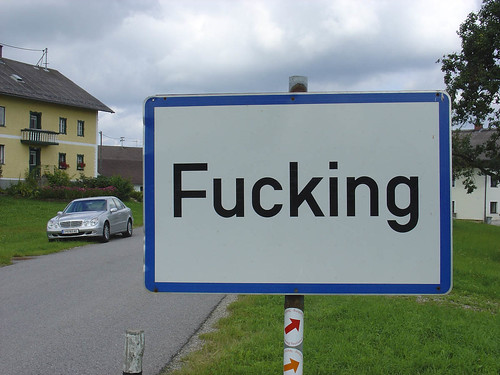 Is there a city called fucking