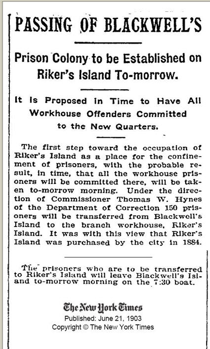 nyt - 1903 june 21 - blackwell prison at 79p
