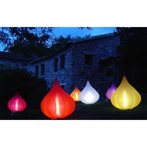 'Light' lights inflate in just 10 seconds ...for a festive feel Share