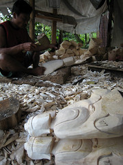carving Budha