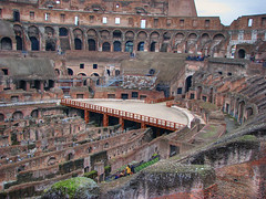 Coliseum, Ancient Rome (**Anik Messier**) Tags: christmas italy holiday rome roma ruins amphitheatre colosseum coliseum hdr italie 2007 ruines colise ancientrome gettyimagesitalyq1