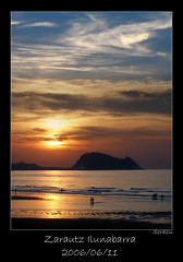 Zarautz - Ilunabarra (sorazu) Tags: sol de olympus puesta zarautz ilunabarra sorazu