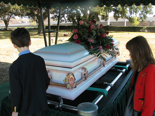 my grandmother's casket