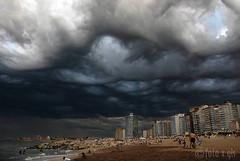 Amenaza temporal (glspro) Tags: argentina clouds nikon playa nubes tormenta miramar vacaciones fotosensor glspro yourcountry gustavosalgado