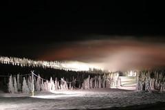 (Aaron Kaspar) Tags: fog night skiing 2007 bigwhite nightskiing