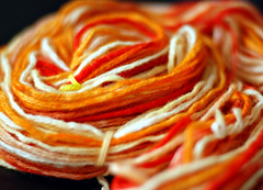 sunshine swirl yarn
