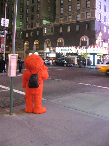 Elmo on 7th Ave