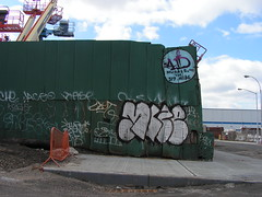 Mize (monolaps) Tags: nyc newyorkcity graffiti mize