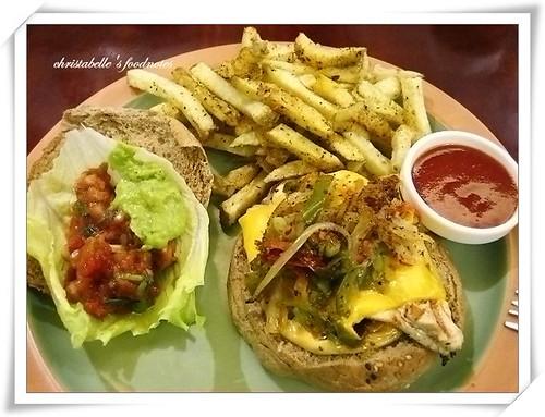 佛客forkers漢堡之墨西哥漢堡