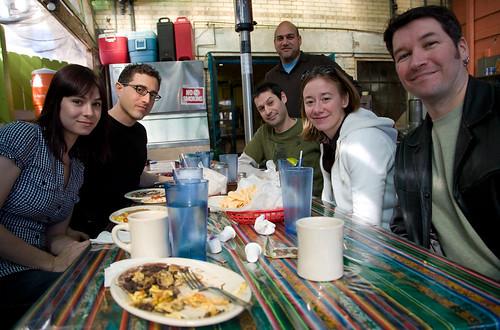 Breakfast at Las Manitas Avenue Cafe