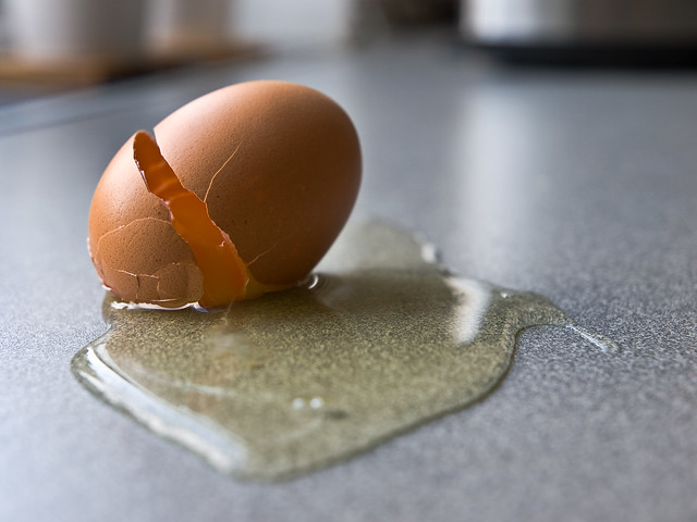 Analog eggs are so fragile