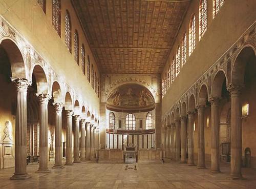 santa sabina nave y abside