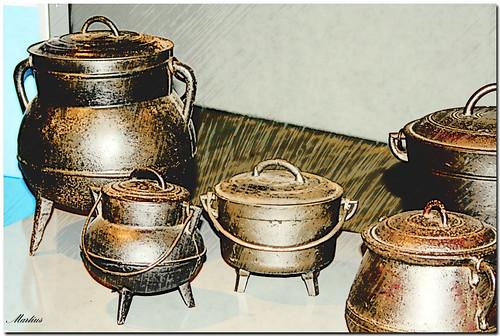 potes y otros utensilios de cocina