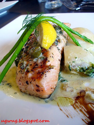 Grenobloise Salmon Fillet