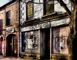 Russell's Tobacconists, Regent Street, Newtownards