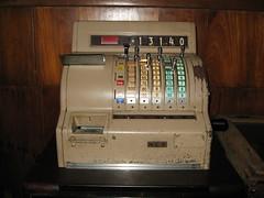 Cash register in Museum - Cameron Highland