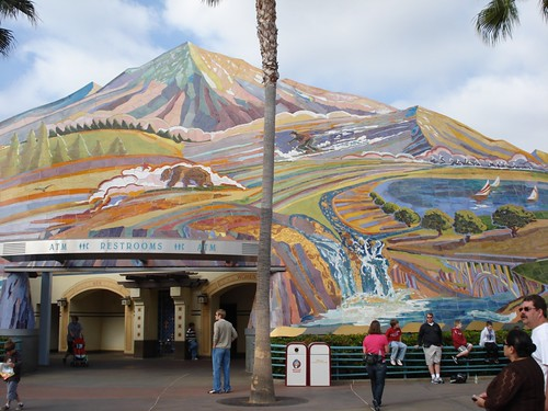 Disney's California Adventure Park Mosaic Mural