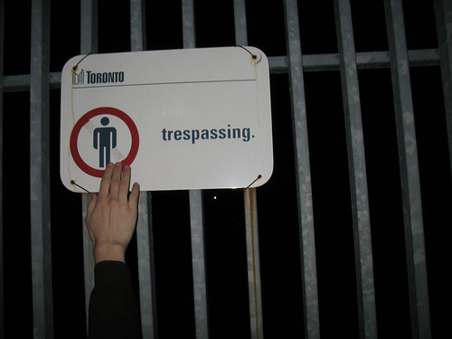 Trespassing Allowed?