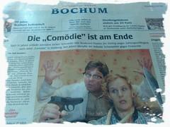 """WAZ Bochum: Die """"Comödie"""" ist am Ende"""
