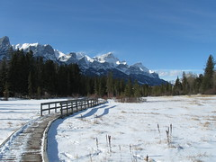 Winter Walks  Banff Parkway (Mr. Happy Face - Peace :)) Tags: albertabound canmore art2017 snow rockies banff environment nature snowcaps canada150years cans2s