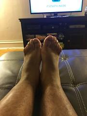 IMG_9876 (_bagent1) Tags: myfeet boyfeet chubbyfeet barefeet bearfeet thickfeet chubbytoes chubby chubbysoles soles slides sandals tops toes