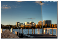 The Easiest Way For Your Children To Learn About Money Is For You Not To Have Any (Sam Ilić) Tags: blue light sunset sky sun lake color building museum clouds canon soft random blues australia national canberra griffin hdr burley hmb photomatix 450d canberrasunset canon24105mm4