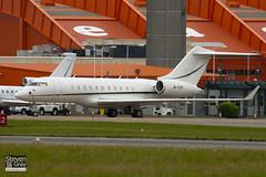 M-YSAI - 9166 - Private - Bombardier BD-700-1A11 Global 5000 - Luton - 100825 - Steven Gray - IMG_2207