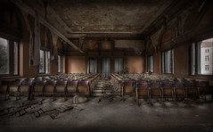 AuditOriuM  :: (andre govia.) Tags: building abandoned buildings photo stage best andre explore seats labs trespass horror derelict auditorium urbex deacy govia