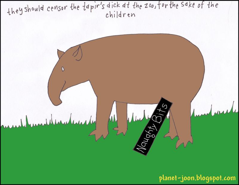 paid for by tapirs are perverted