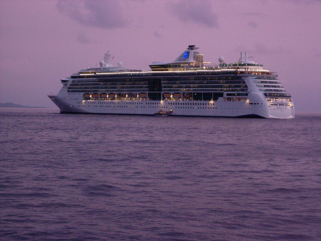 Serenade of the Seas, at Sunset