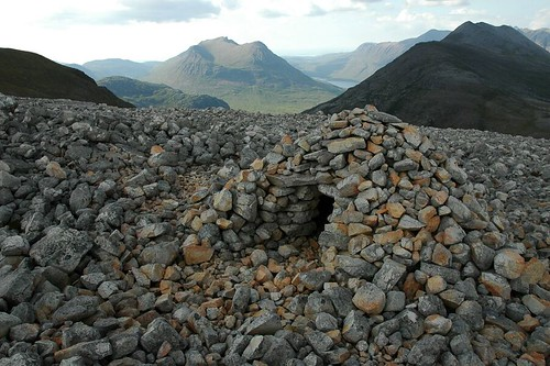 Stone Shelter. Great outlook