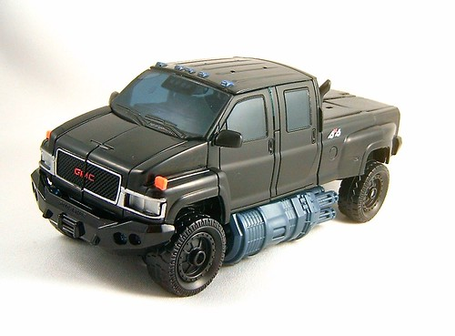 Transformer Ironhide - modo alterno (Movie Voyager)