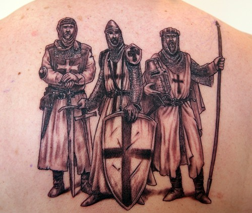 knight tattoo. grey-knights Tattoo