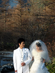Kamikochi Wedding Couple
