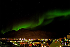 Nuuk: Northern Light (Jesper Albrechtsen) Tags: light aurora greenland northern borealis grnland nuuk nordlys