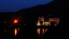 Hotel Lit (George D. Allen) Tags: longexposure ireland sea galway night d50 nikon availablelight tripod leenane georgeallen