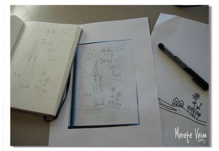 pattern drawing :: #2 :: tegne mønster