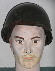 Casque (US) (daviddb) Tags: mannequin wwii dummy casque coque