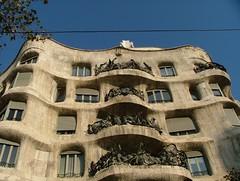 BARCELONA (BEATPOLE) Tags: barcelona casamil lapedrera antonigaud