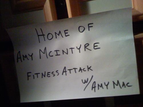 Amy Macs Sign