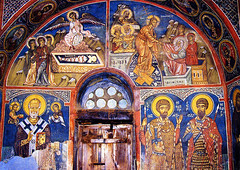 The Empty Tomb & The Resurrection (jandudas) Tags: mountains church island europe mediterranean religion cyprus eu unesco hills cipro wallpainting troodos zypern frescoe kbrs chypre ciprus