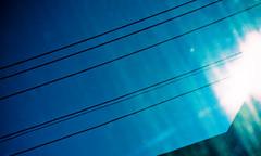 Fake Lomography (Tony Webster) Tags: blue sky sun minnesota 50mm washington lomo lomography power unitedstates minneapolis powerlines flare universityofminnesota washingtonavenue diversey canonef50mmf14usm deletethistag importmdjan cgg1508 crv1523