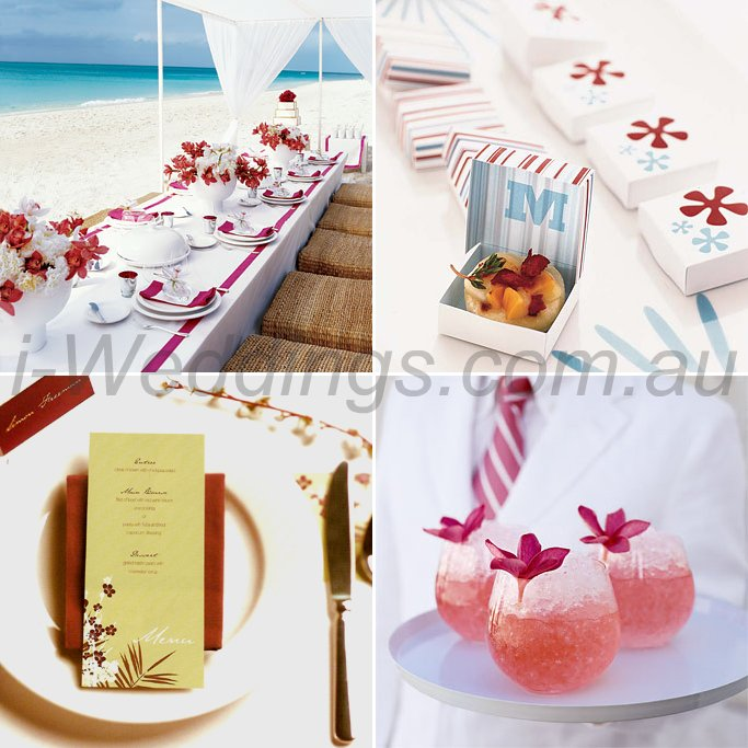 iLoveThese shades of red wedding ideas4