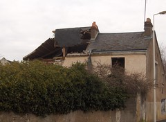 Chantier de démolition, rue Ronsard #1